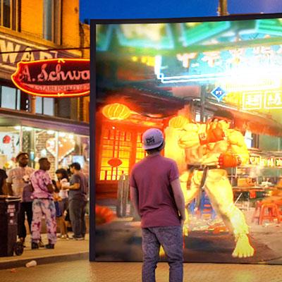 Street Fight Screen